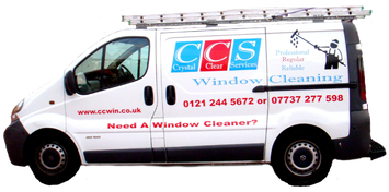 image of crystal clear services van